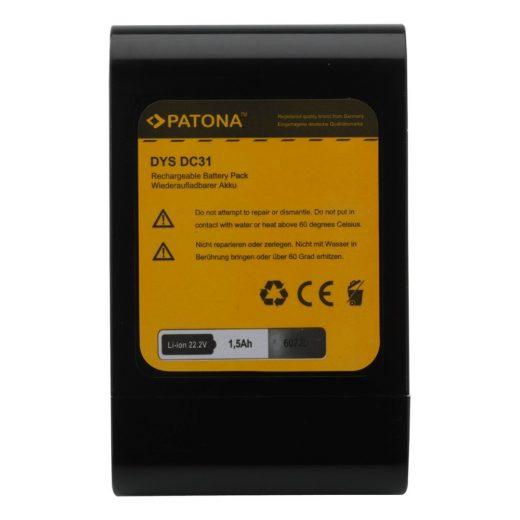 Dyson DC31, DC34, DC35 akkumulátor - Patona