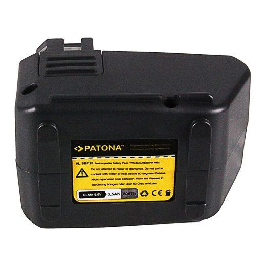 Hilti SF100 SBP10 SB10 9,6V 3500 mAh NiMH akkumulátor - Patona