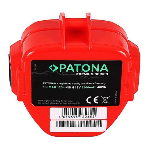 Makita 1234 - 12V 3300 mAh akkumulátor - Patona Premium