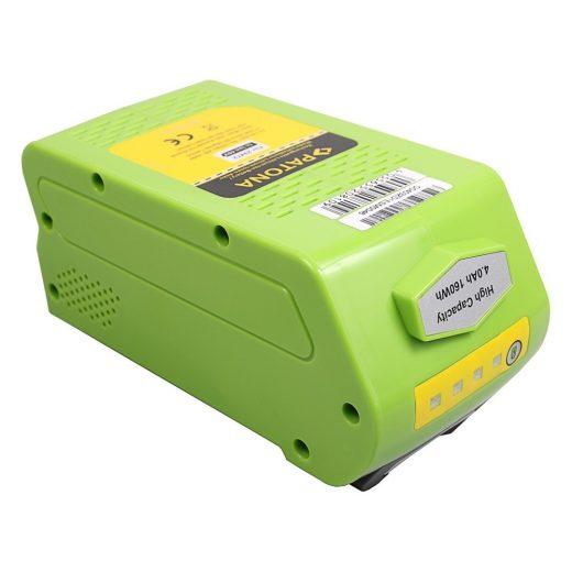 Greenworks 20302 2601402 29302 29462 29472 29282 40V 4000 mAh Li-Ion akkumulátor - Patona