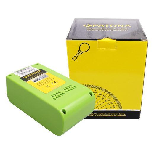 Greenworks 29322 29842 29852 24V 4000 mAh Li-Ion akkumulátor - Patona