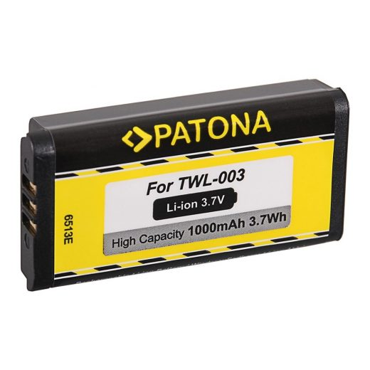Nintendo DSi, NDSi, NDSiL Li-Ion akkumulátor 3,7V 1000 mAh - Patona