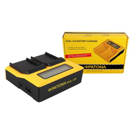 Canon Akkumulátor Töltő - BP-A30, BP-A60, BP-A65 + USB - 2 töltőhely + LCD