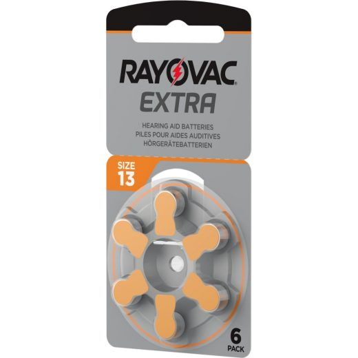 Rayovac Extra Advanced 13 Hallókészülék Elem x 6 db