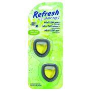 Refresh Your Car - Lemon Lime Sunshine - Autóillatosító Mini Diffúzor