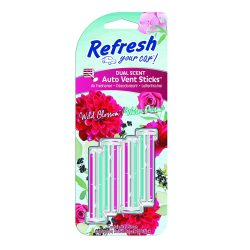 Refresh Your Car - Wild Blossom & Water Prism - Autóillatosító Stick - 4 db