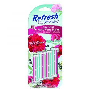 Refresh Your Car - Wild Blossom & Water Prism - Autóillatosító Stick - 4 db