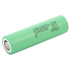 Samsung INR18650-25R 2500 mAh akkumulátor