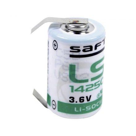 Saft LS14250 3,6V Lítium 1/2AA Elem U forrfüllel
