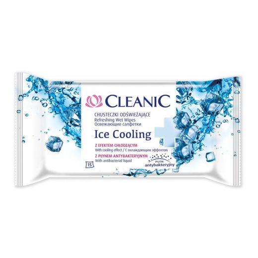 Cleanic Frissítő Törlőkendő Ice Cooling - 15 db