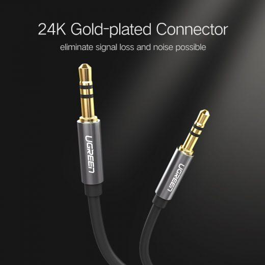 UGREEN Audio kábel - 3,5 mm jack - 3m - Kék