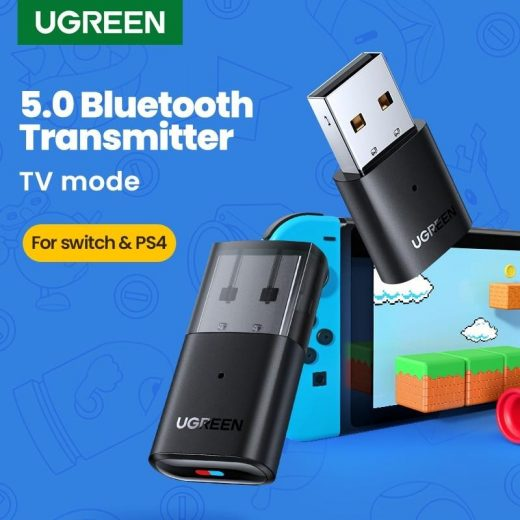 UGREEN USB Bluetooth Adapter 5.0 - Airpods / PC / PS / Switch