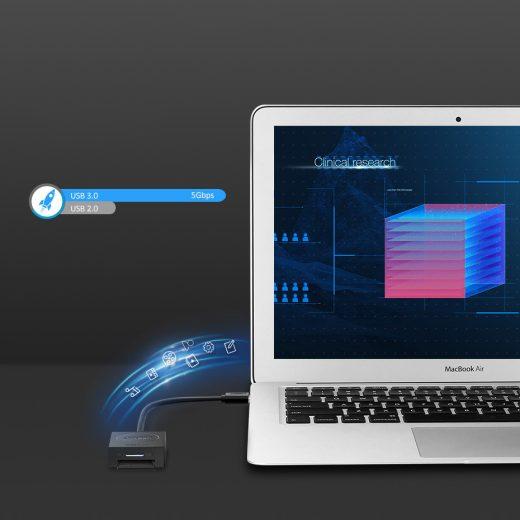 UGREEN USB Kártyaolvasó - SD, microSD