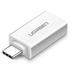 UGREEN USB adapter USB-A 3.0 (anya) - USB-C (apa) - Fehér