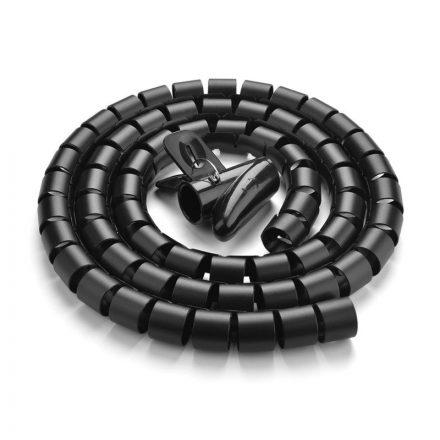UGREEN Kábelvédő / Rendezőcső 1,5m - Fekete