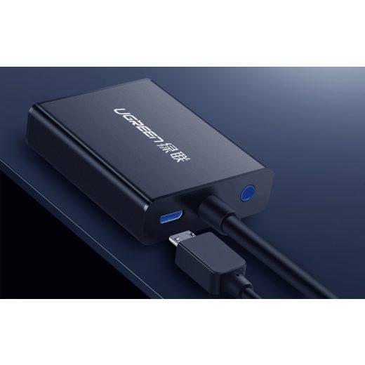 UGREEN HDMI - VGA Átalakító Audioval