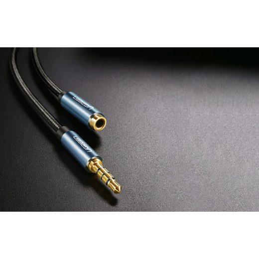 UGREEN Audio hosszabbító kábel - 3,5 mm jack - 2m - Kék