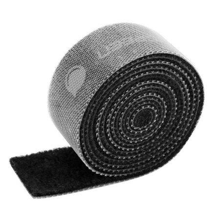 UGREEN Tépőzáras Kábelrendező 15mm 1m - Fekete