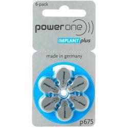 Varta Power One Implant Plus 675 Hallókészülék Elem x 6 db