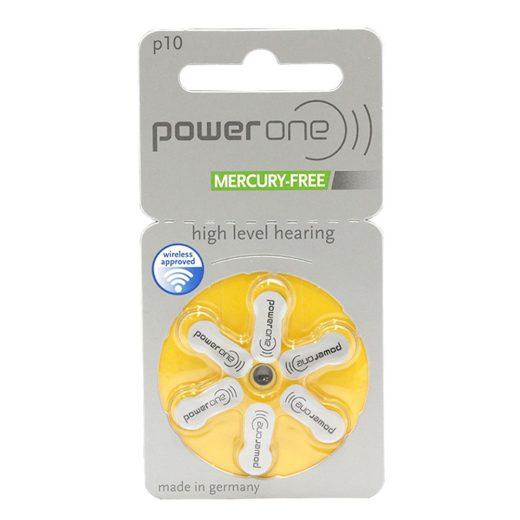 Varta Power One 10 Hallókészülék Elem, 6 db