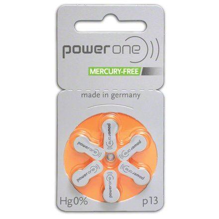 Varta Power One 13 Hallókészülék Elem x 6 db
