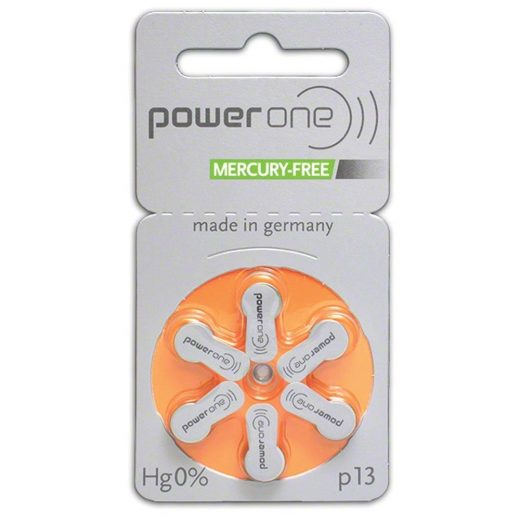 Varta Power One 13 Hallókészülék Elem, 6 db