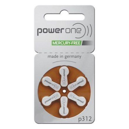 Varta Power One 312 Hallókészülék Elem x 6 db