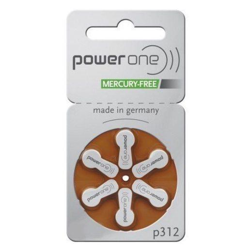 Varta Power One 312 Hallókészülék Elem, 6 db