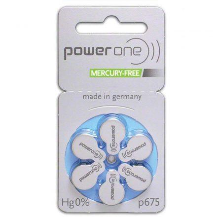 Varta Power One 675 Hallókészülék Elem x 6 db