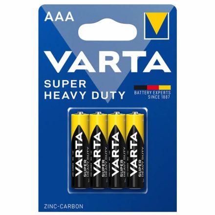 Varta Superlife Féltartós AAA Mikro Elem - 4 db