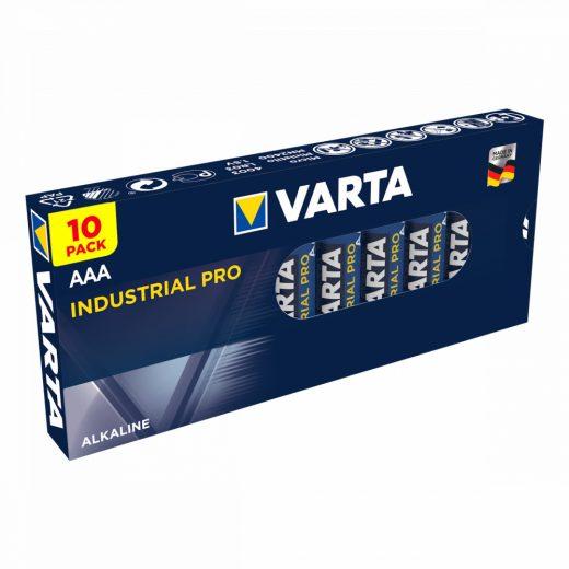 Varta Industrial 4003 AAA LR03 Mikro Elem - 10 db