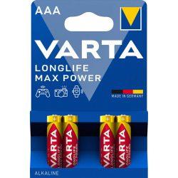Varta Longlife Max Power AAA Mikro Elem - 4 db