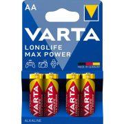 Varta Longlife Max Power AA Ceruza Elem - 4 db