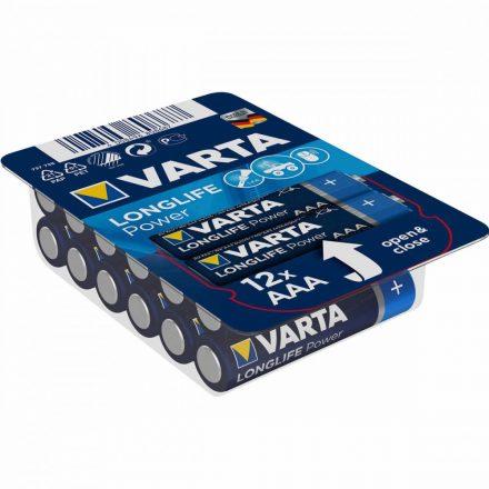 Varta Longlife Power AAA Mikro Elem - 12 db