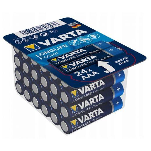Varta Longlife Power AAA Mikro Elem - 24 db