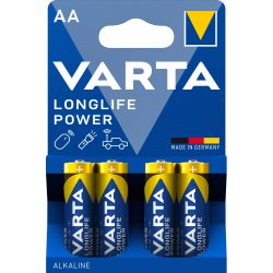 Varta Longlife Power AA Ceruza Elem (High Energy) - 4 db
