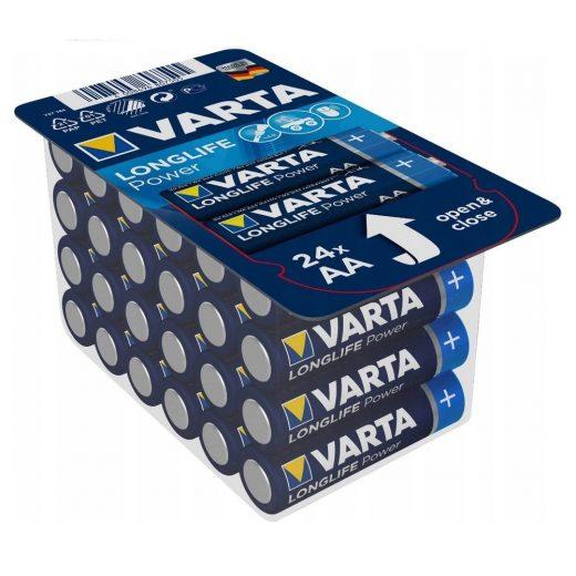 Varta Longlife Power AA Ceruza Elem - 24 db