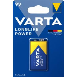Varta Longlife Power 9V Elem