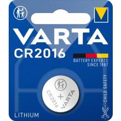 Varta CR2016 Gombelem