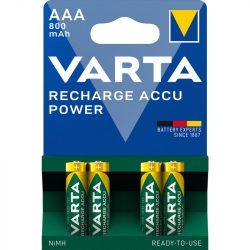 Varta Power AAA 800 mAh NiMH akkumulátor x 4 db
