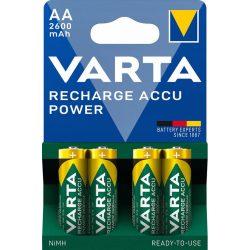 Varta Power AA 2600 mAh NiMH akkumulátor - 4 db