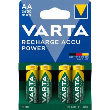 Varta Power AA 2600 mAh NiMH akkumulátor x 4 db