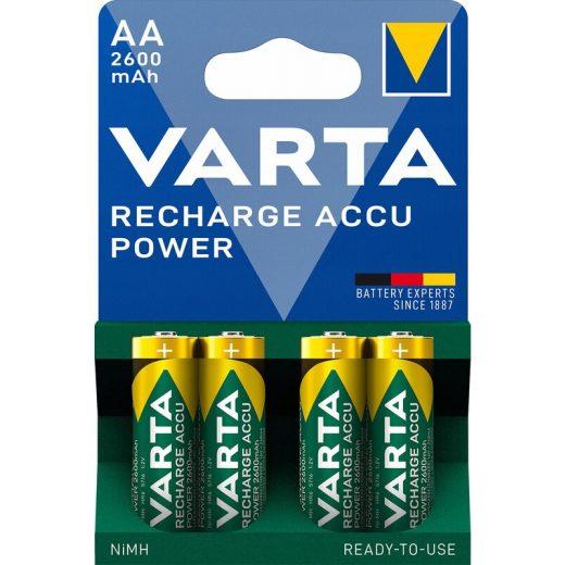 Varta Power AA Ceruza 2600mAh akkumulátor - 4 db