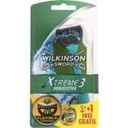 Wilkinson Xtreme3 Sensitive eldobható borotva 3+1
