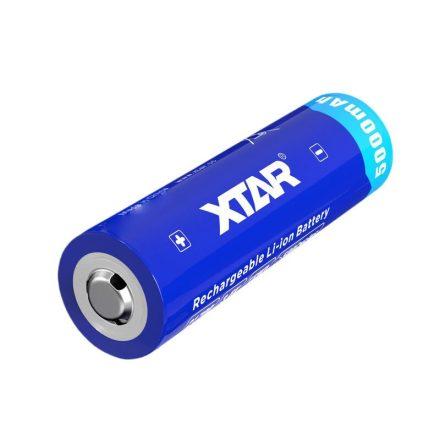 Xtar 21700 3,6V 5000mAh védett Li-Ion akkumulátor