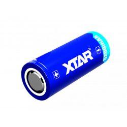Xtar 26650 3,6V 5200mAh védett akkumulátor