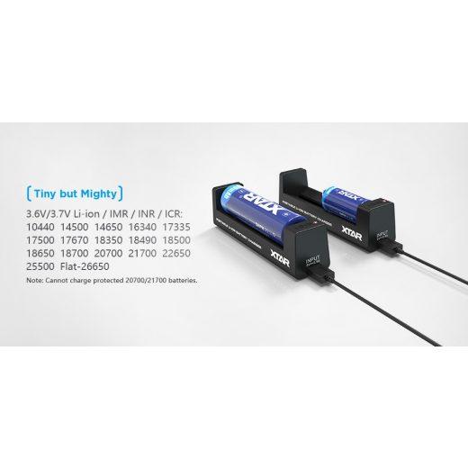 Xtar MC1 Li-Ion akkumulátor töltő