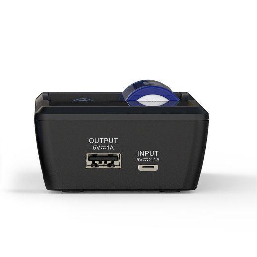 Xtar VC2S - Li-Ion / NiMH Akkumulátor Töltő Powerbank Funkcióval