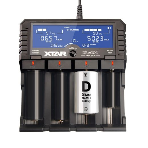 Xtar VP4 Plus Dragon akkumulátor töltő