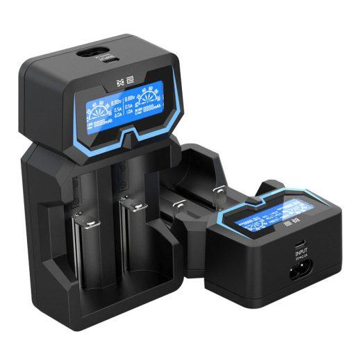 Xtar X2 - Li-Ion / NiMH Akkumulátor Töltő